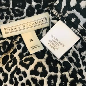 Dana Buchman Tops - Dana Buchman Leopard Long Sleeve Print Blouse